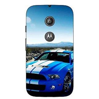 Enhance Your Phone Super Car Mustang Back Cover Case For Moto E2 E650632