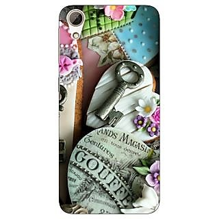 Enhance Your Phone Cakes Back Cover Case For HTC Desire 728G Dual Sim