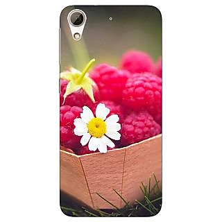 Enhance Your Phone Berry Love Back Cover Case For HTC Desire 728G Dual Sim