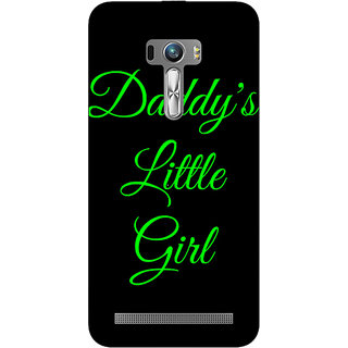 Enhance Your Phone Daddys Lil Girl Back Cover Case For Asus Zenfone Selfie
