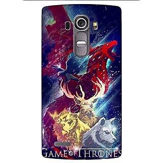 Enhance Your Phone Game Of Thrones GOT House Targaryen  Back Cover Case For LG G4