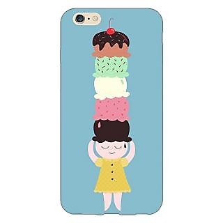 Enhance Your Phone Ice Cream Back Cover Case For Apple iPhone 6S Plus
