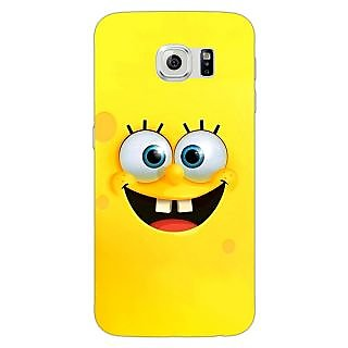 Enhance Your Phone Spongebob Back Cover Case For Samsung S6 Edge E600467