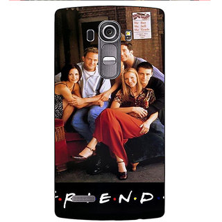 Enhance Your Phone TV Series FRIENDS Back Cover Case For LG G4