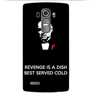 Enhance Your Phone The Godfather Back Cover Case For LG G4
