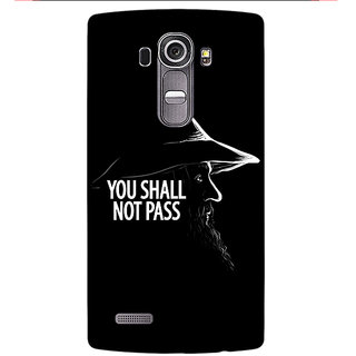 Enhance Your Phone LOTR Hobbit Gandalf Back Cover Case For LG G4