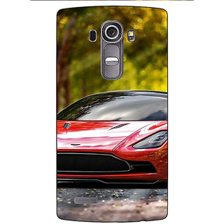 Enhance Your Phone Super Car Aston Martin Back Cover Case For LG G4