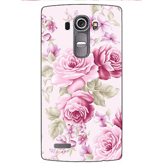 Enhance Your Phone Floral Pattern  Back Cover Case For LG G4