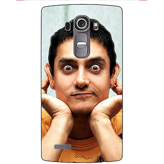 Enhance Your Phone Bollywood Superstar Aamir Khan Back Cover Case For LG G4