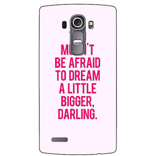 Enhance Your Phone Quotes Back Cover Case For LG G4