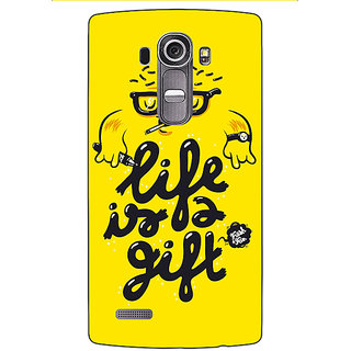 Enhance Your Phone Life Quote Back Cover Case For LG G4