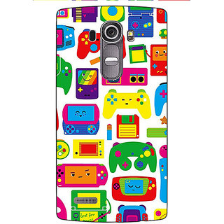 Enhance Your Phone Gamer Back Cover Case For LG G4