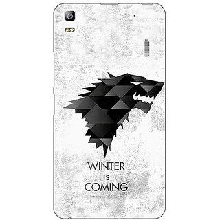 Enhance Your Phone Game Of Thrones GOT House Stark  Back Cover Case For Lenovo K3 Note