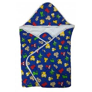 Love Baby 565 Cotton Dry Robe (Navy Blue)