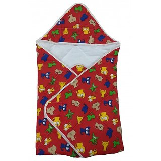 Love Baby 565 Cotton Dry Robe (Red)