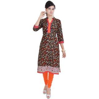 Factorywala A Beautiful Printed Cotton Kurti for Womens
