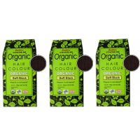 Radico Organic Hair Color - Soft Black (Pack Of 3)
