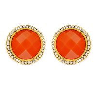 Sukkhi Classic Gold Plated AD Earring For Women