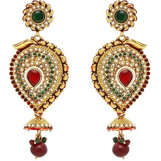 Sukkhi Luxurious Gold Plated Pearl Earring For Women