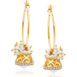 Sukkhi Exquisite Gold Plated AD Earring For Women