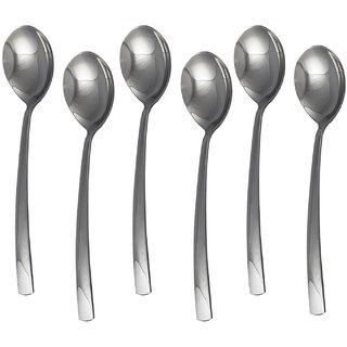 S S Crescent Dessert Spoon 6 Pcs Set