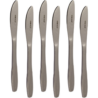 S S Crescent Dessert Knife 6 Pcs Set