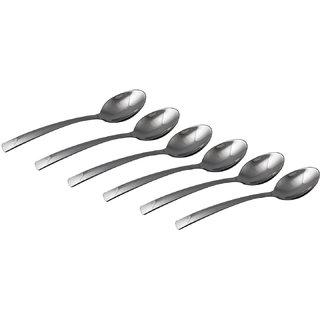 S S Wedge Tea Spoon 6 Pcs Set