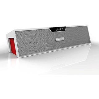 Bluetooth Dual 5 Watt Speakers, FM Radio, TF Card Calling facility,LCD Display