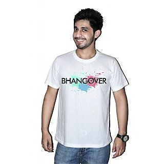 Printed Holi T-shirts By Mitr Stores For Men The Bhangover