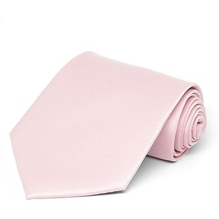 Wholesome Deal Pink Microfiber Narrow Tie