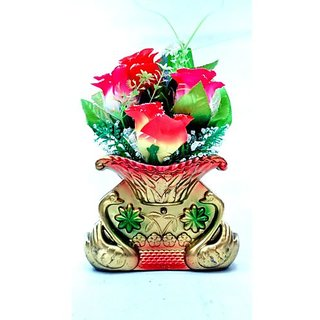 Artificial flower pot 28X10 cms