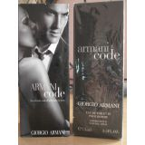 Armani Code By Giorgio Armani For Men. Eau De Toilette Spray 75 Ml Sealed