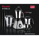 Preethi Mixer Grinder 600w Model Steele