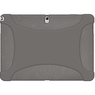 Amzer 96490 Silicone Skin Jelly Case - Grey for Samsung Galaxy Note 10.1
