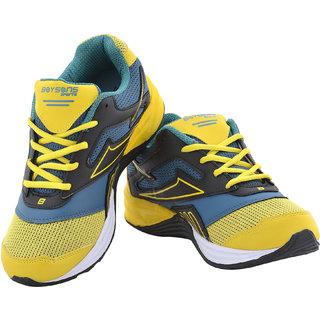 Boysons Green lifestyle sports shoes (3101-cgrnylw)