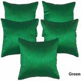 GREEN CUSHION COVER 30/30 CM (5 PCS SET)