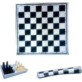 Good Quality 18 Vinyl Foldable ChessMat with Free Chess Coins - Chess Mat
