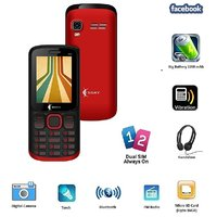 Ssky S500 Dual Sim GSM With Big Battery, Facebook Multimedia Camera Mobile Phone