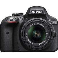 Nikon DSLR D3300 With AF-S 18-55 Mm VR Kit Lens - 2483920