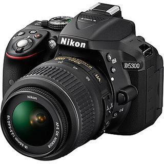 Nikon D5300 DSLR Camera with AF P DX NIKKOR 18 55 mm f/3.5 5.6G VR Kit