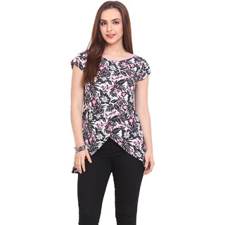 Blink Women Multi Crepe Casual Top (BLK00047)