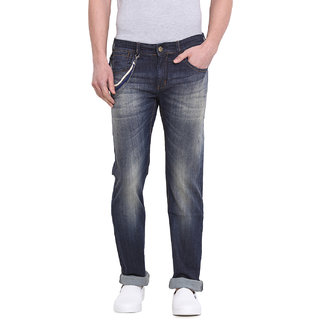 Virtue Men Blue Casual Slim Fit Jeans (VRT7STR)