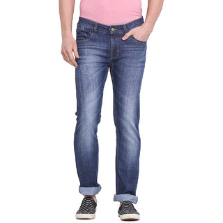 Virtue Men Blue Casual Slim Fit Jeans (VRT3STR)