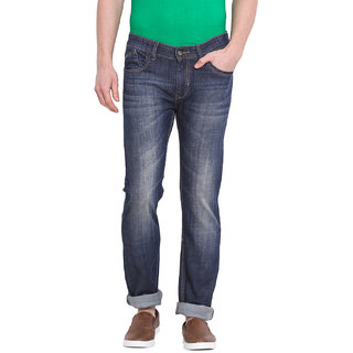 Virtue Men Blue Casual Slim Fit Jeans (VRT1STR)
