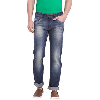 Virtue Men Blue Casual Slim Fit Jeans (VRT10STR)