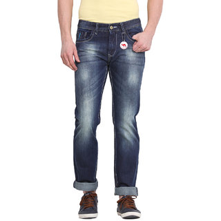 Virtue Men Blue Casual Slim Fit Jeans (VRT26RGD)