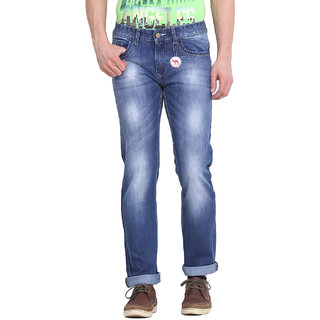 Virtue Men Blue Casual Slim Fit Jeans (VRT27RGD)