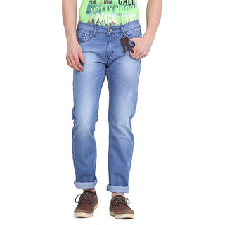 Virtue Men Blue Casual Slim Fit Jeans (VRT23RGD)