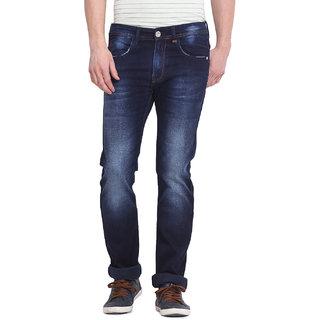 Virtue Men Blue Casual Slim Fit Jeans (VRT78STR-SP)