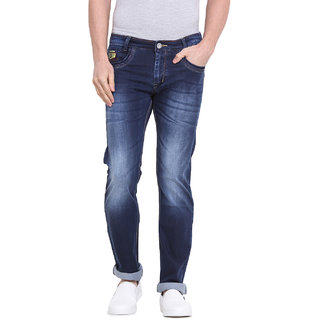 Virtue Men Blue Casual Slim Fit Jeans (VRT76STR-SP)